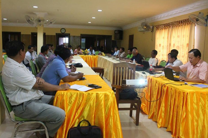 CSOs Working Group on Prey Lang and REDD Organized meeting for Information Sharing 1