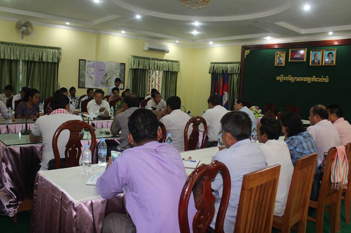 CSOs Working Group on Prey Lang and REDD Organized meeting for Information Sharing 2