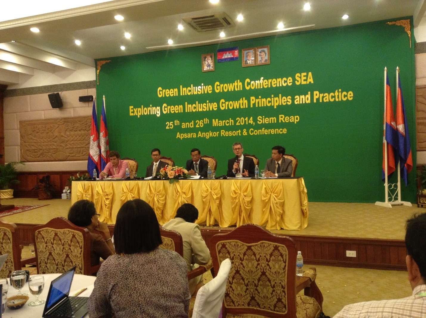 Cambodia Exploring Green Inclusive Growth Principle and Practice